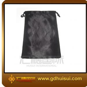 Quality satin custom velvet jewelry bag for sale