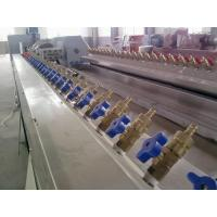 Quality High Output PVC Profile Extrusion Machine For PVC Photo Frame , Door Frame , Window Frame for sale