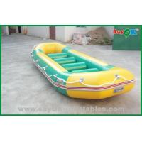 Quality Water Park 4 Persons PVC Inflatable Boats For Adults , Promotional Inflatables for sale