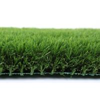 Quality U Shape 20mm Pet Friendly Fake Grass PE Soft And Durable Indoor / Outdoor Use for sale