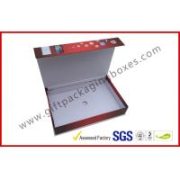 China Smart Phone Magnetic Packaging Boxes , UV Coated Mobile Phone Box Packaging on sale