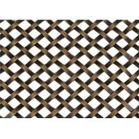 Quality Decorative Flat Wire Mesh Screen Cabinets Nonpoisonous Convenient Handling for sale