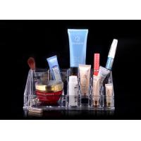 Quality Crystal Clear Nail Polish Display Desktop For Makeup Organizer for sale