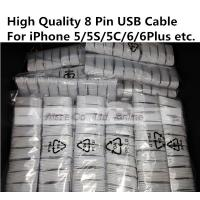 Quality Apple iPhone 5 5s 5c 6 6plus iPad mini air air2 8 Pin Lighting USB Cable Data Sync Cords for sale
