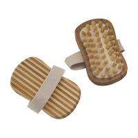 Quality Eco - Fiendly Detox Bamboo Body Massager Oval Shape 13.5X7.5X3.5 cm for sale