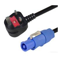 China UK Standard Powercon Power Cable / Power Cord Cable With Powercon PC003-5M/1.5 for sale