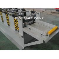 Buy Rain Gutter Roll Forming Machine Construction Material Roofing 450mm - 550mm Inner Diameter at wholesale prices
