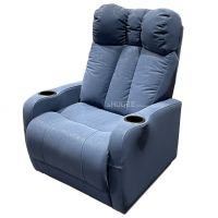 Buy cheap Synthetic Leather Home Theater Seating VIP Sofa With Electric Pedal from wholesalers