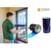 China Window Protection Tape , Door Protector Film 1.24 Meter Width Cut Into Small Size on sale