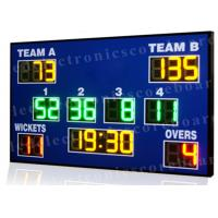 Quality High Brightness Cricket Score Board , Led Electronic Scoreboard Outdoor Type for sale