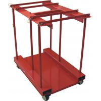 Buy cheap Mobile 8 In 1 Gas Cylinder Caddy With Polypropylene Casters Powder Coated from wholesalers