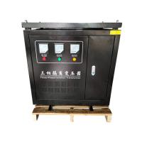 Quality CNC Machines 70 KVA Transformer 3 Phase 380V Dry Type With Black Enclosure for sale