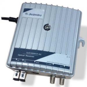 Quality Dual Input FTTH CATV Receiver , Fiber Optic Receiver GJS1000H1F-D2 for sale