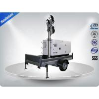 Buy cheap Single Phase Generator Mobile Light Tower Trailer With Manual Operated Mast from wholesalers