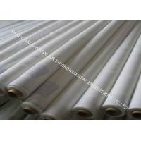 Quality White Color Screen Printing Mesh , Silk Screen Fabric Mesh For T Shirt Printing for sale