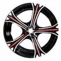 Quality Car Alloy Wheel Rim of Aftermarket, with BM Polish, Measures 13x5.5/14x6 Inches for sale
