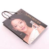 China Offset Printing Recycled Paper Shopping Bags , Personalised Paper Bags For Business on sale
