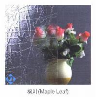 Quality Maple Leaf Patterned Glass for sale