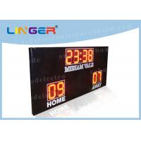 Quality High Brightness Football Electronic Scoreboard Outdoor For University for sale