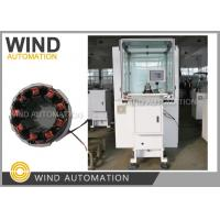 Quality 1.8mm AWG13 Big Copper Wire Coil Winding Machine For Brushless Motor Stator for sale