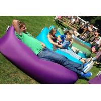 Buy Hot sell hangout sofa inflatable sleeping airbag  ,dont need pump,very easy to use at wholesale prices