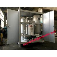 Dirty Turbine Oil Demulsifier Flushing Unit,Turbine Oil Dehydrator Removing Free Water and Dissolved Water,Emulsion lube for sale