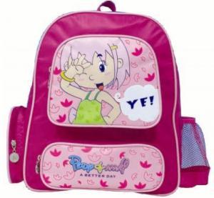 2012 Fashion cute canvas backpacks for girls