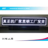 Quality Waterproof Outdoor LED Moving Message Display IP65 , P10 Full Color Led Signs for sale