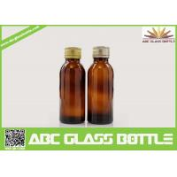 Quality Cheap Discount 100ML Pharmaceutical Amber Syrup Glass Bottle for sale