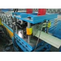 Quality Ridge Cap Roll Forming Machine PPGI Color Steel Corrugated Roof Sheet for sale