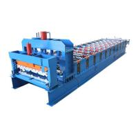 Quality Steel Tile Forming Machine For Roofing Glazed Sheet Metal Construction Materials for sale