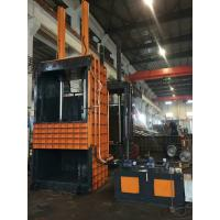 Quality Semi - Automatic Vertical Baler Machine For Cardboard , Manual Valve Operation for sale