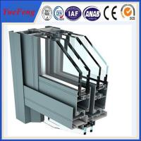 Quality aluminium windows powder coating, supply construction aluminum extrusion for curtain wall for sale