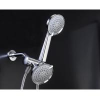 Quality Plating Chrome Rain Shower Head Combo Wall Mounted Eco Friendly for sale