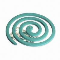 Quality Baby Mosquito Coil/Mosquito Coil with 8 to 12-hour Burning Time, Smokeless, Comes in Various Designs for sale