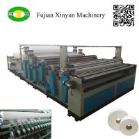 Buy cheap Semi automatic maxi roll paper and small bobbin paper slitting and rewinding from wholesalers