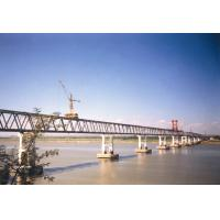 Quality Performance Steel Truss Temporary Pedestrian Bridge with Paint Surface for sale
