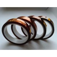 Mechanical electrical properties Double sided  kapton tape of Polyimide , 15mm / 20mm / 25mm for sale