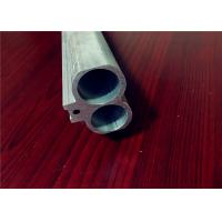 Quality 6061 Extruded Aluminum Tube Profiles For  Building Curtain Glass Walls for sale