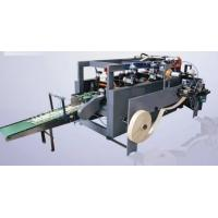 Quality Right Angle Flat - Belt Paper Bag Forming Machine For Handbag Making 8KW for sale