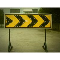 Buy cheap Curve Guidance LED Flashing Arrow Board Customized Solar Road Sign 400×1200 mm from wholesalers