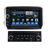Quality 2 Din Radio Car Touch Screen Peugeot Navigation System 208 Peugeot 2008 for sale