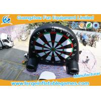 Quality Giant Inflatable Football and Golf Dartboard with Velcro Balls for sale