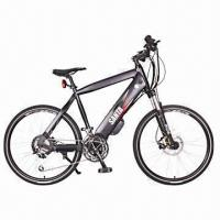 China Electric Bike/Electric Bicycle, New, 26-inch Alloy Frame,36V/10Ah Lithium Battery on sale