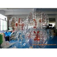 Quality Skill Printing Inflatable bumper balls for adults / Entertainment inflatable body bumpers for sale