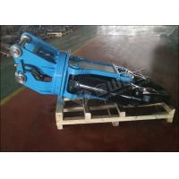 Quality Mini Excavator Metal Shears , Caterpillar Excavator Shear Attachment Wide Jaw Opening for sale