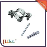 Quality Durable Double Bolt Large Diameter Pipe Clamps Anti Corrosion Environment Friendly for sale