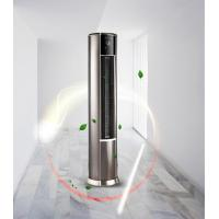 China Vertical Type Warm Air Conditioner , Commercial Or Industrial Fan Heater For Room Heating for sale