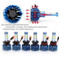 Quality COB Chip Car LED Headlights C2- H4 9004 9007 H13  For Offroad SUV 3200 Lumens for sale