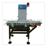 Quality check weigher, frozen Fish food checkweigher to check weight qualification,sort for sale